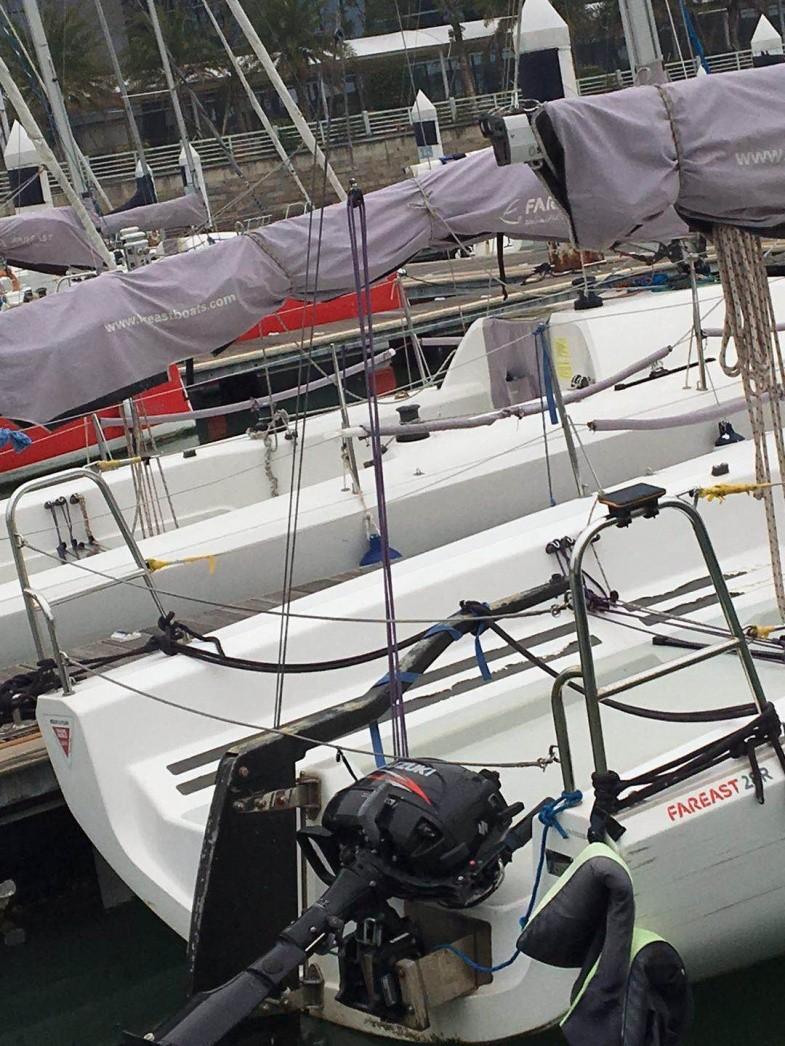 16万/艘出售(四艘)精品高配珐伊28R帆船