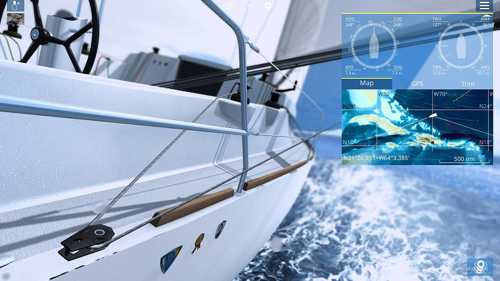 帆船模拟游戏 Sailaway - The Sailing Simulator
