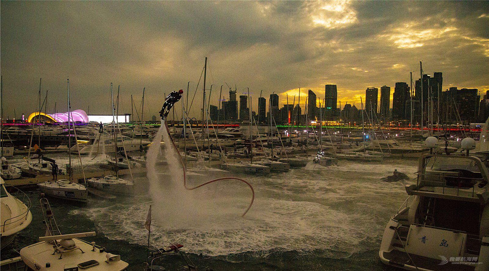 2018-ccoR国际帆船赛水上摩托艇表演精彩呈现。