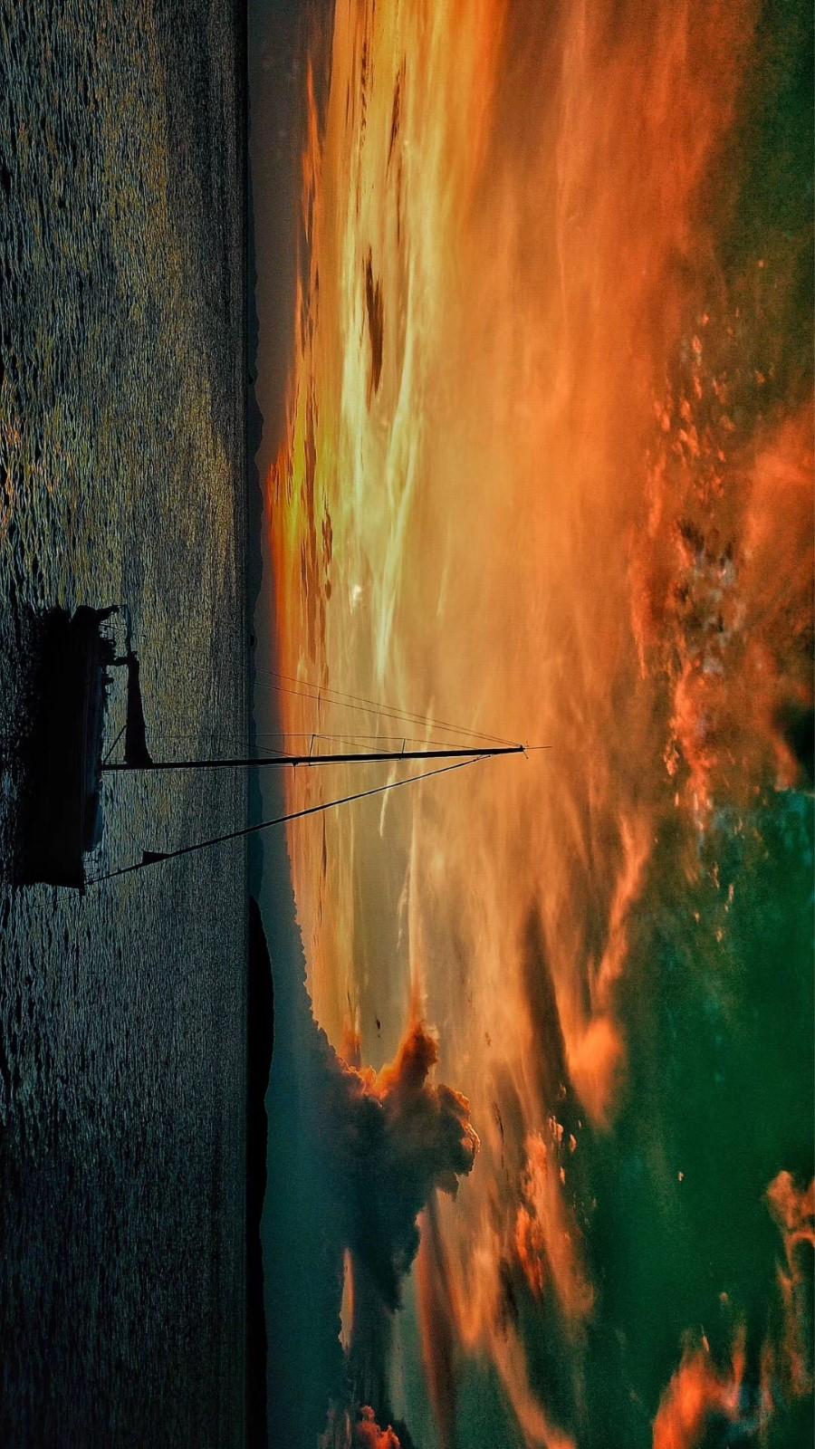 泰国甲米的大帆船SICLY航行体验活动