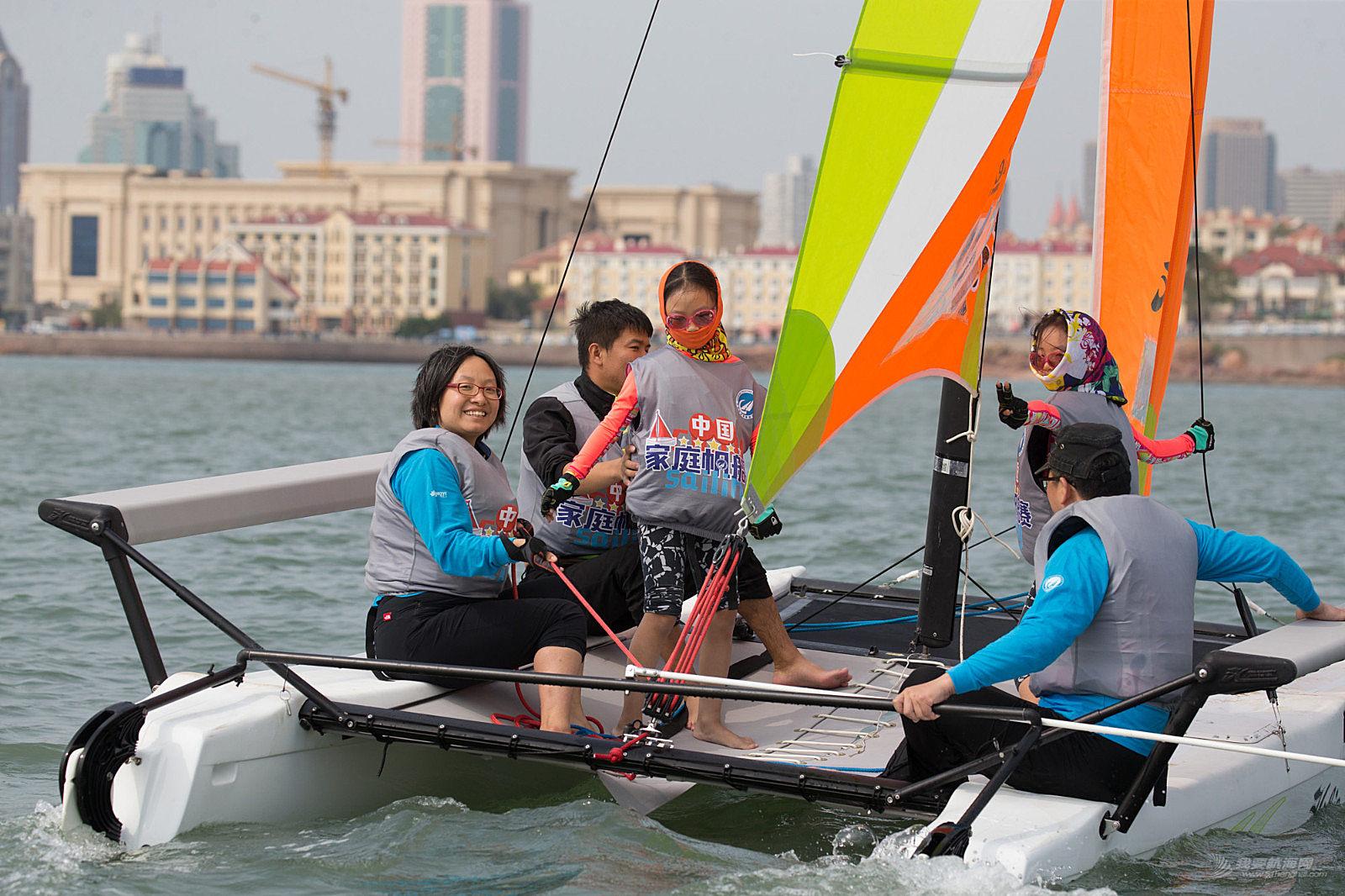 中国家庭帆船赛温馨故事之7岁双胞胎姐妹的欢乐扬帆之旅