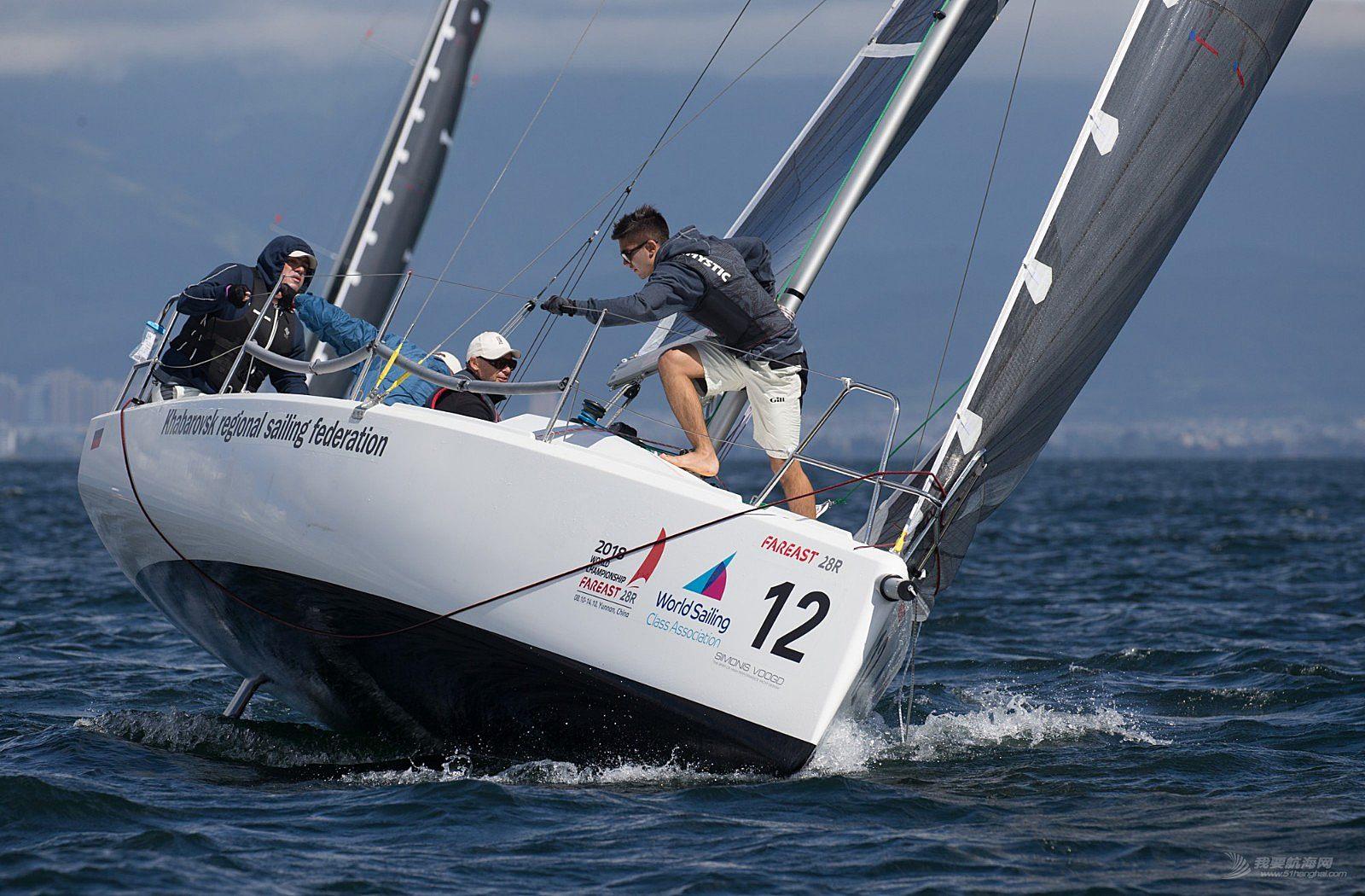 2018国际珐伊28R帆船世锦赛精彩图片贴10