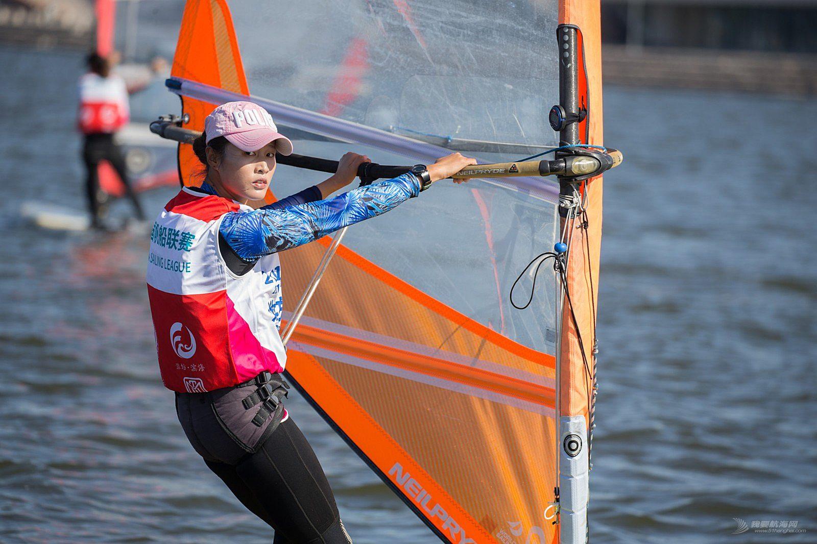 2018中国帆船联赛潍坊站27日国手赛事图片2