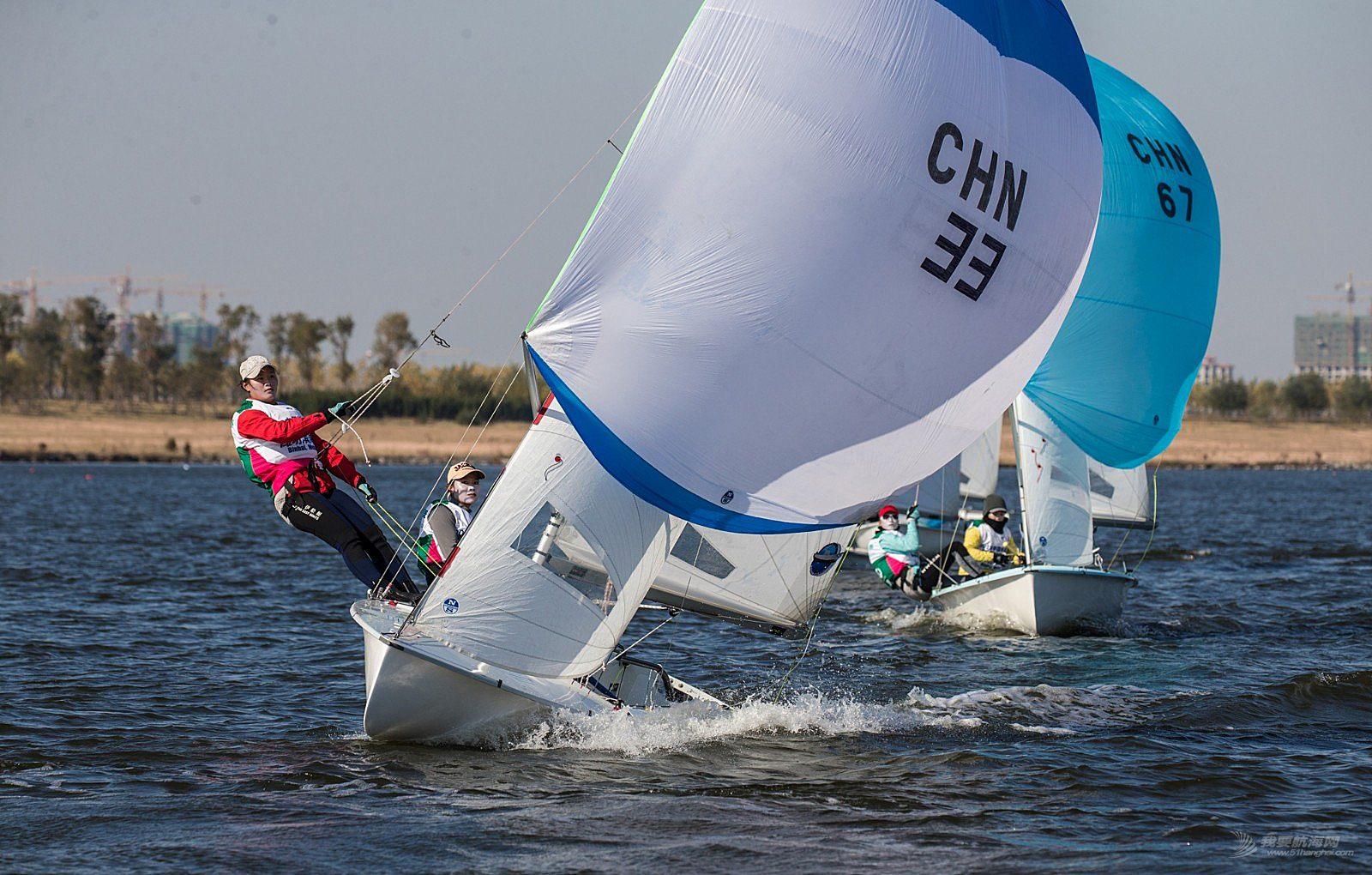 2018中国帆船联赛潍坊站27日国手赛事图片3
