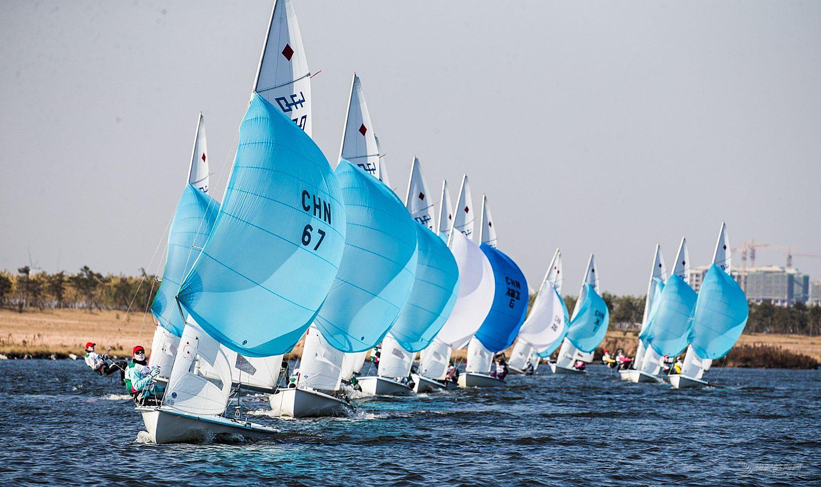 开赛二日战况升级 帆船明星尽展风采