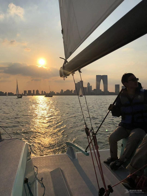 新手的运气—记金鸡湖帆船赛