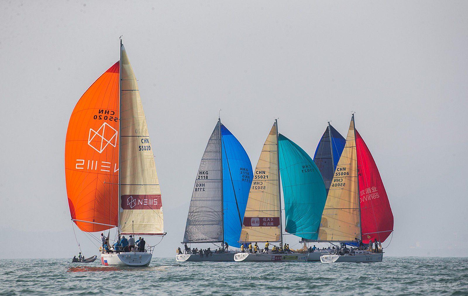 2018第十二届中国杯帆船赛9日赛事图片贴4