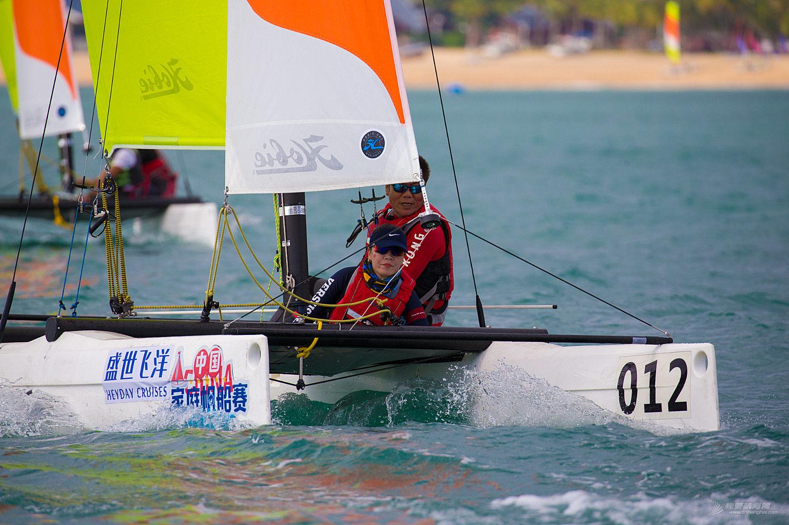 驶向天涯海角,帆趣近在咫尺  家帆赛三亚站开赛
