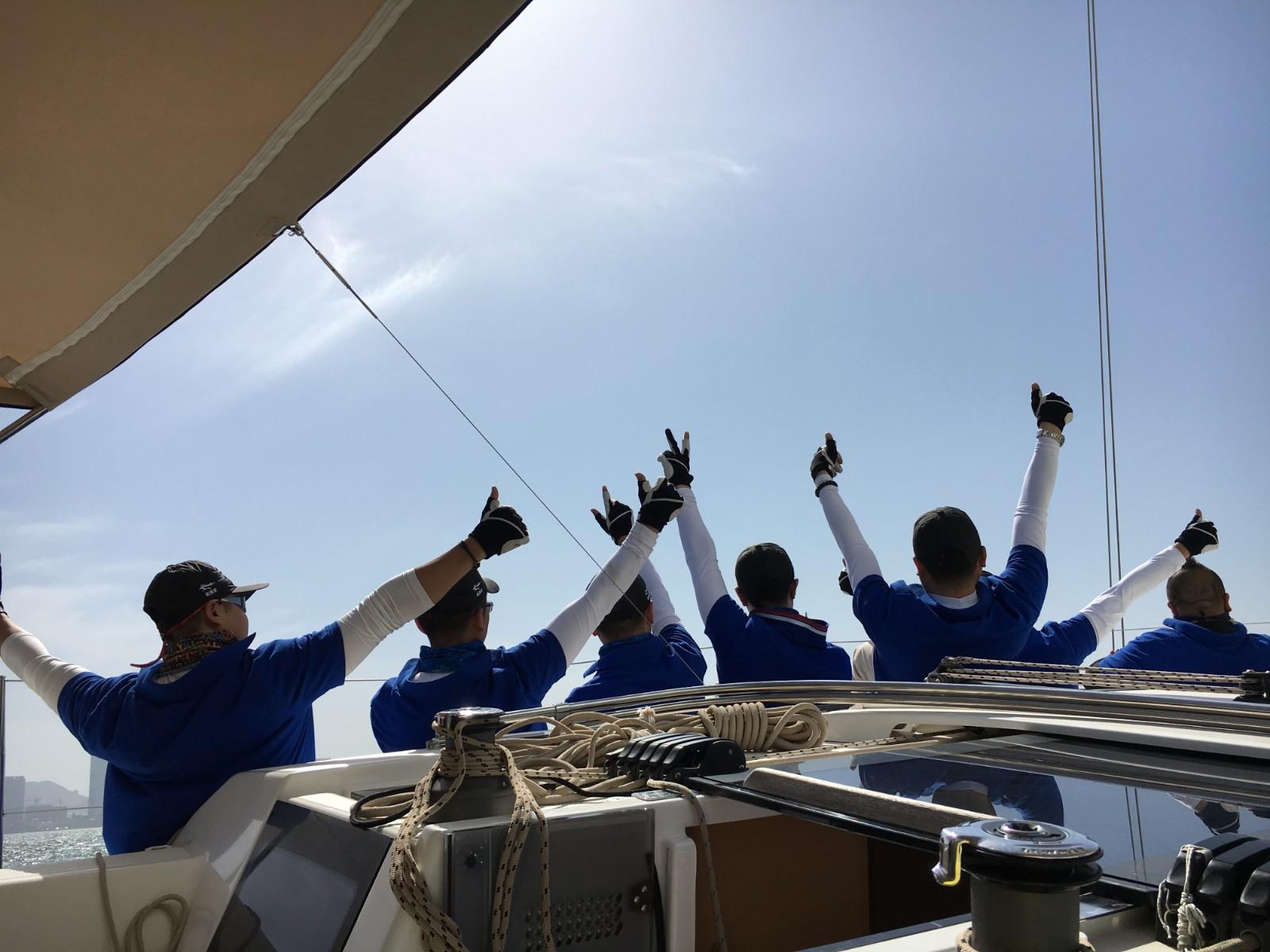 我们为什么要参与帆船运动理由之一