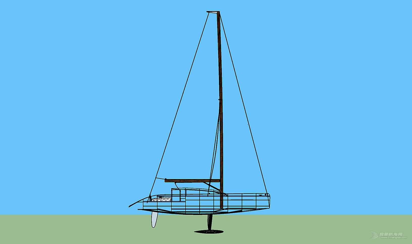 10米帆艇自建实录