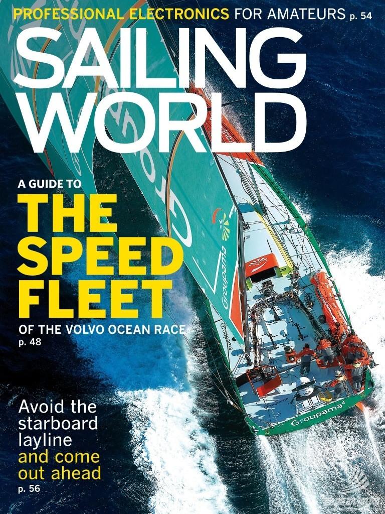 sailing world 帆船世界杂志1