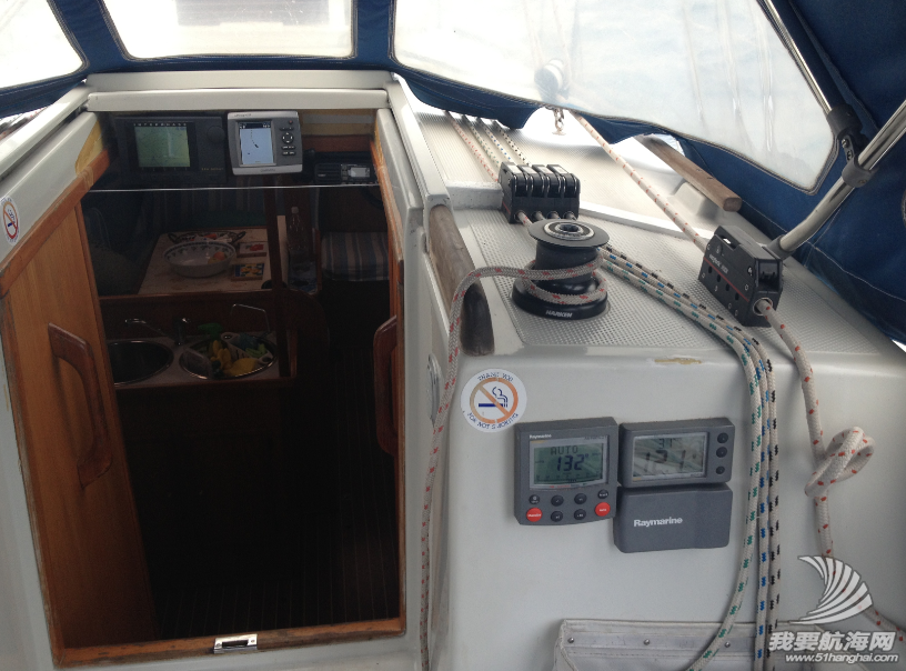 驾驶舱,RAYMARINE,12V,太阳能,两个 在马来西亚兰卡威把船选好了,明天试航!  202308ccuf5hu5hzqkr0ug