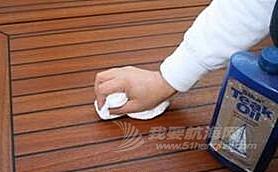 船艇柚木,保养 船艇柚木的保养