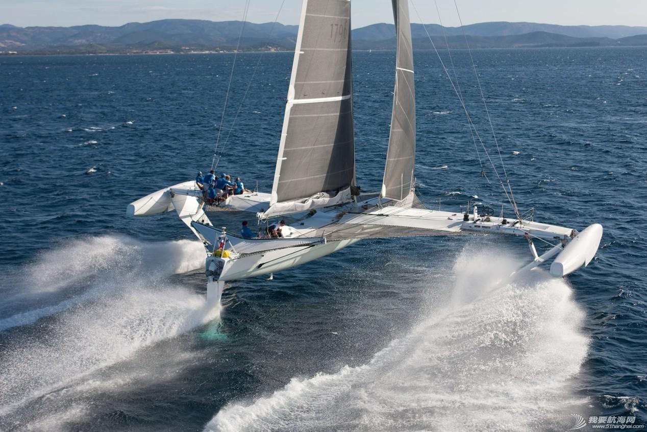 AC72水翼帆船