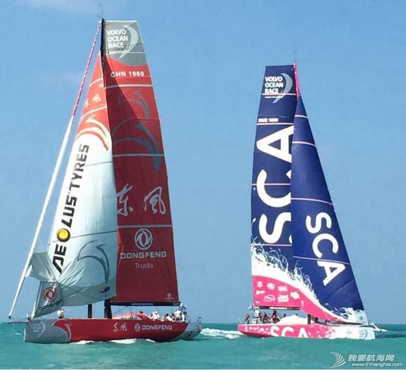 中国,环球,沃尔沃,东风,帆船 沃尔沃环球帆船赛东风队回家,第一个冲线!  075910sitrpttrt6jwik1k