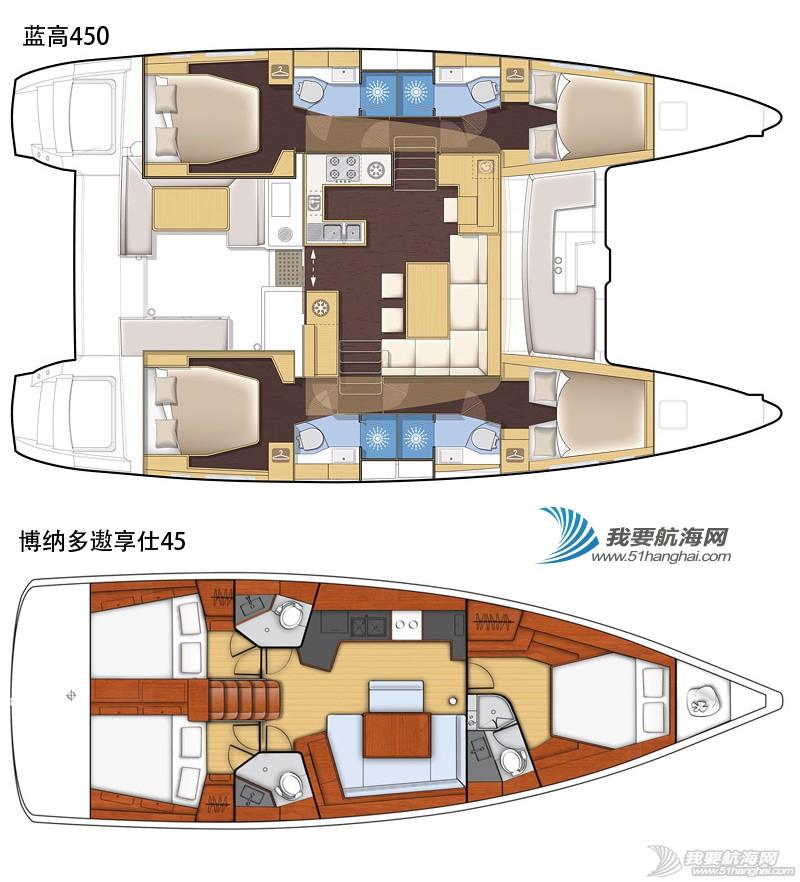 帆船平面图