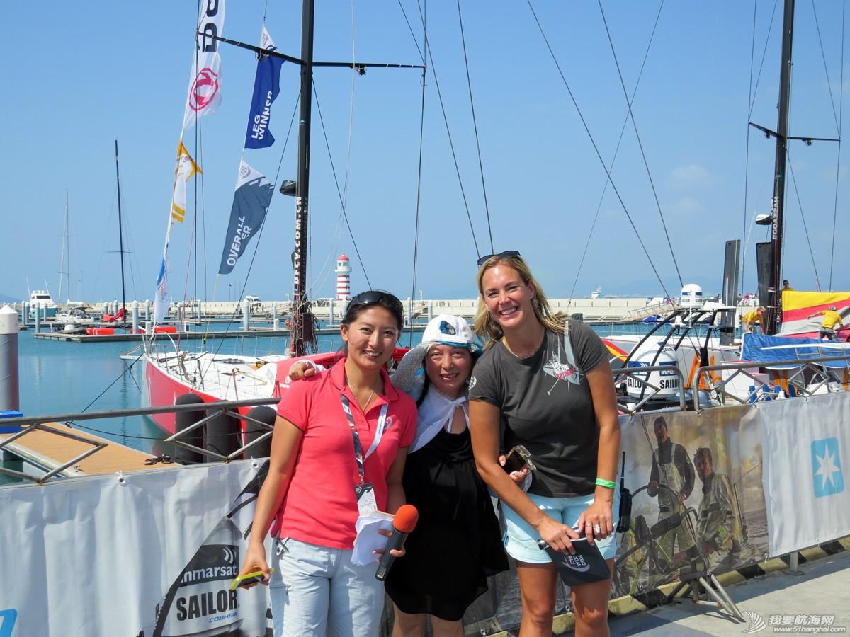 沃尔沃环球帆船赛三亚站照片