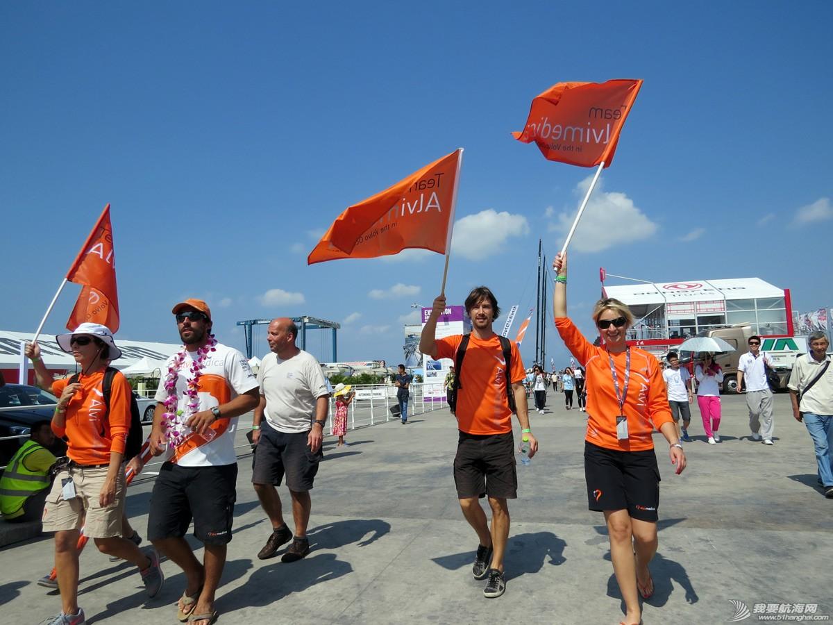 沃尔沃环球帆船赛照片