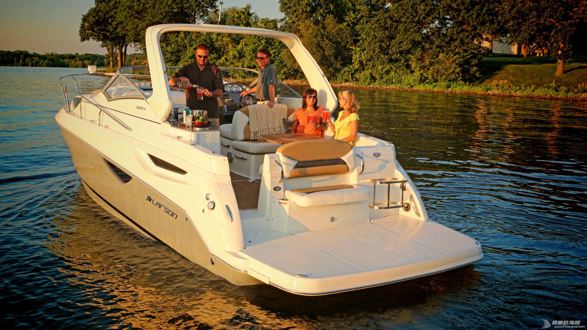 nbsp,尔森,Larson,游艇,自己 美国进口游艇拉尔森CABRIO 315,现船销售  134526gyulebfb0uf00fuu