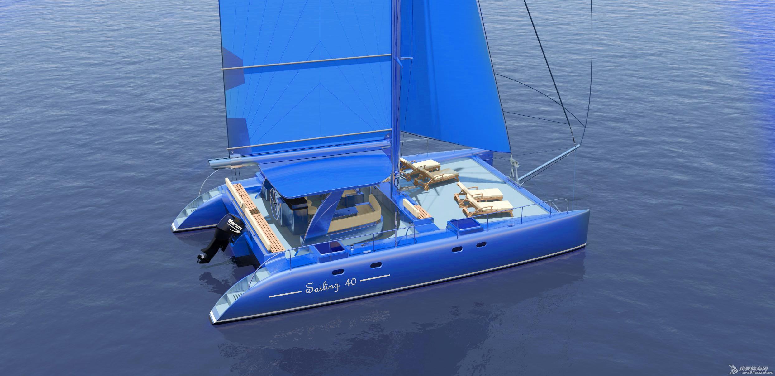 帆船,证书,休闲,英尺,比赛 40英尺双体帆船,比赛休闲两用,法定船检证书和试航证书 可以选择颜色 113133hf0qcqluflhl0nnu