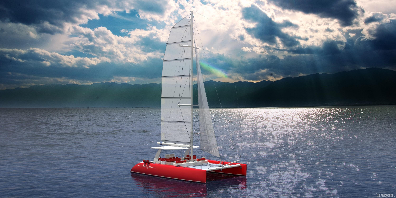 帆船,证书,休闲,英尺,比赛 40英尺双体帆船,比赛休闲两用,法定船检证书和试航证书 可用于业余比赛 113407cr6xz353x5jusa6m