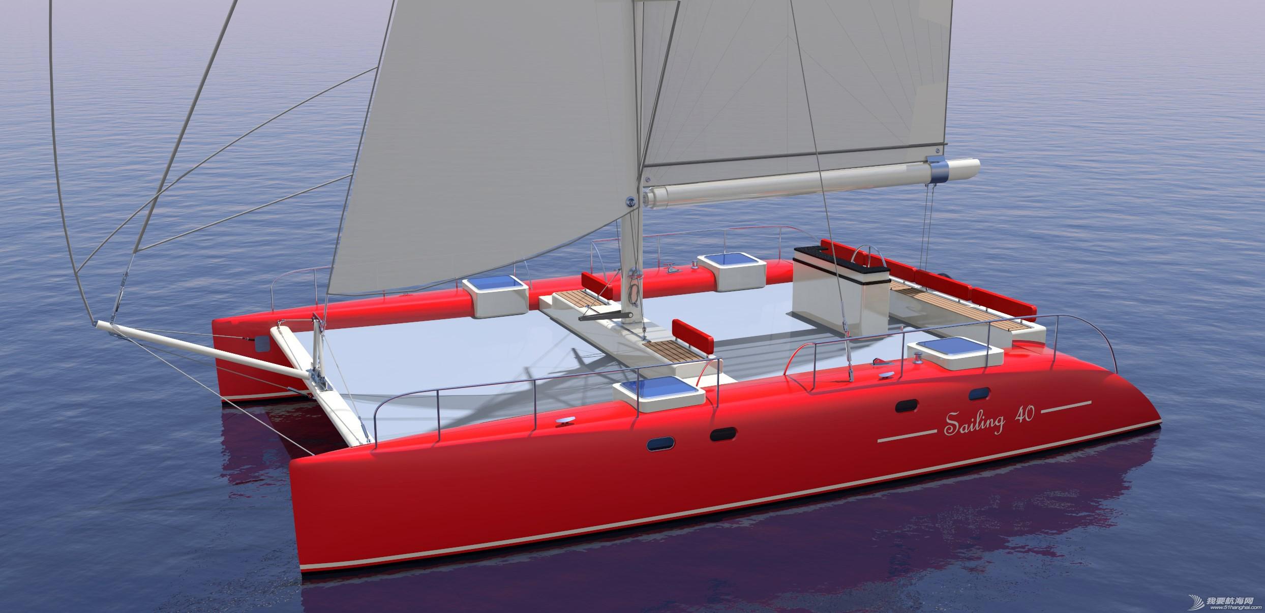 帆船,证书,休闲,英尺,比赛 40英尺双体帆船,比赛休闲两用,法定船检证书和试航证书 宽6点6米,很宽敞 113432gl93hagagh8zzy0a