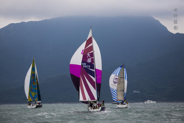 2015中国杯帆船赛照片