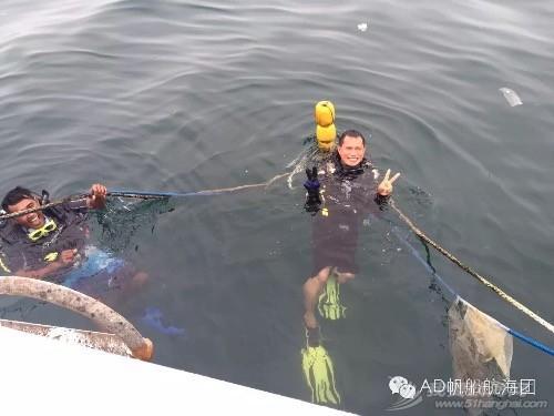 我们,潜水,航海,那的,就是 AD航海团 帆船游记13:不舍得离开的天堂渔港仙本那  231415eyclwvjwddvw5c29