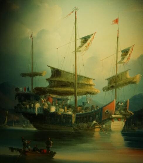 帆船,渔船,看到,多为,年青人 国内中式帆船的记录很少,近代的都是渔船或渔船改为运货,真正的货船在附上的博物... 香港海事博物馆收藏画上的中式货船 172134fr19hj9g8n9rbhan