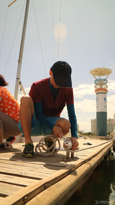 认真,认识,帆船,同学,学的  王同学可是很早以前的志愿者,好像很久没有打过羊角结有点忘了。