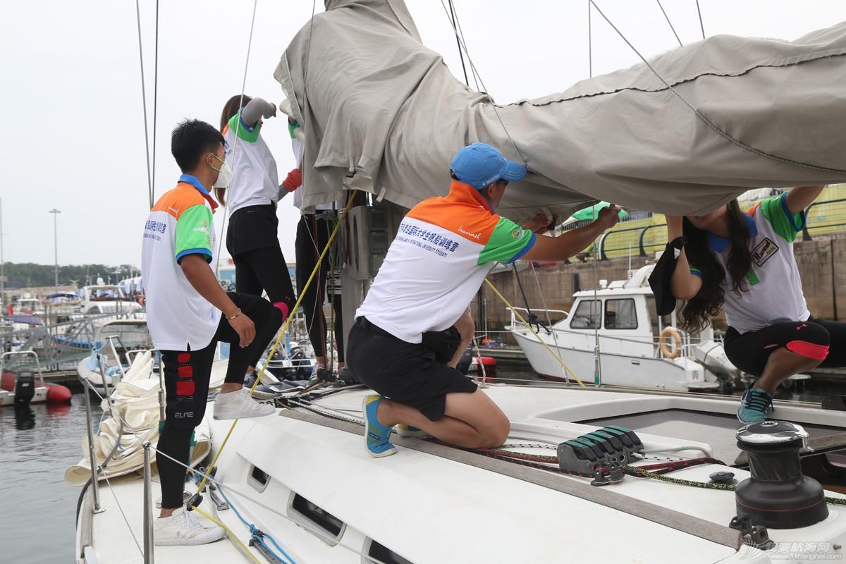 青岛国际大学生帆船训练营|中国人民大学队