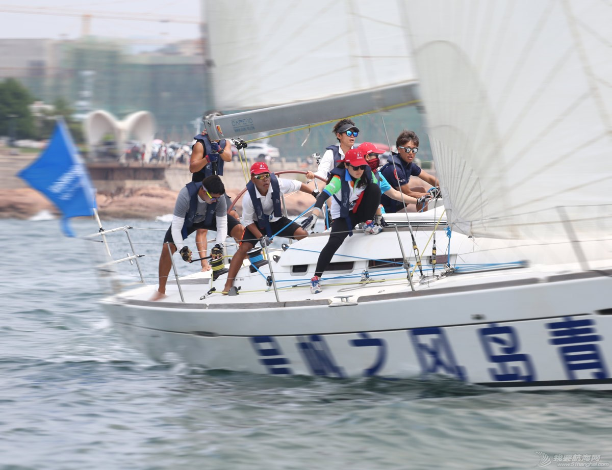 青岛国际大学生帆船训练营首尔大学&庆尚大学联合队