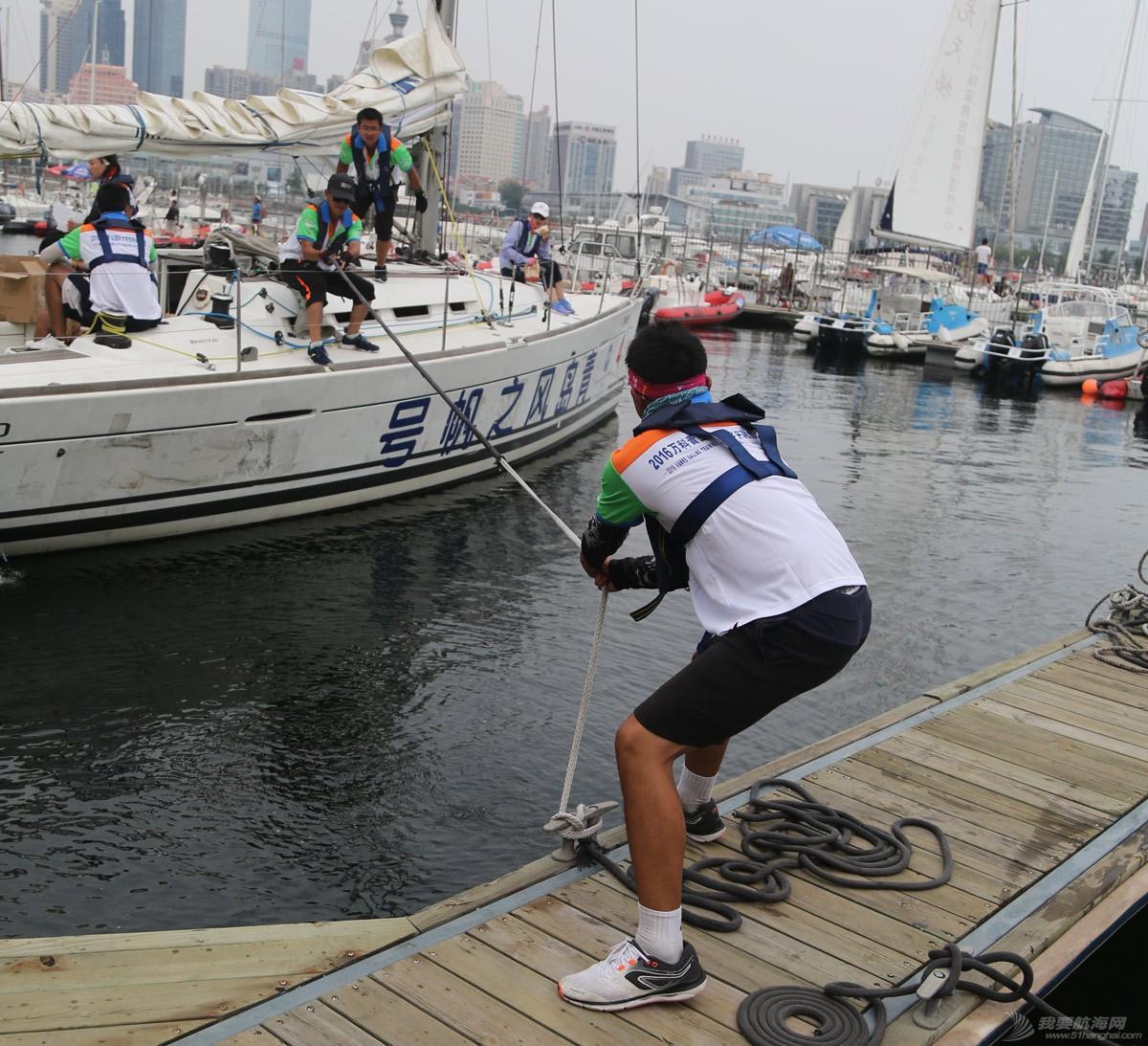 青岛国际大学生帆船训练营南开大学队
