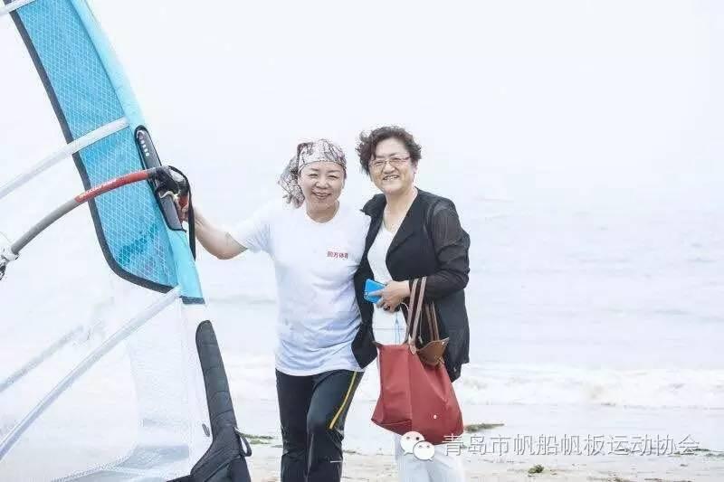 青岛帆板运动市民体验日青岛帆板运动市民体验日