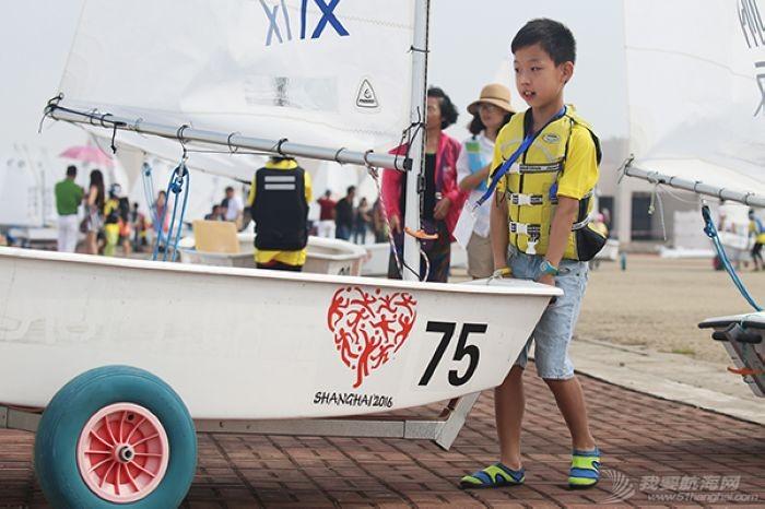 上海第二届市民运动会青少年帆船总决赛