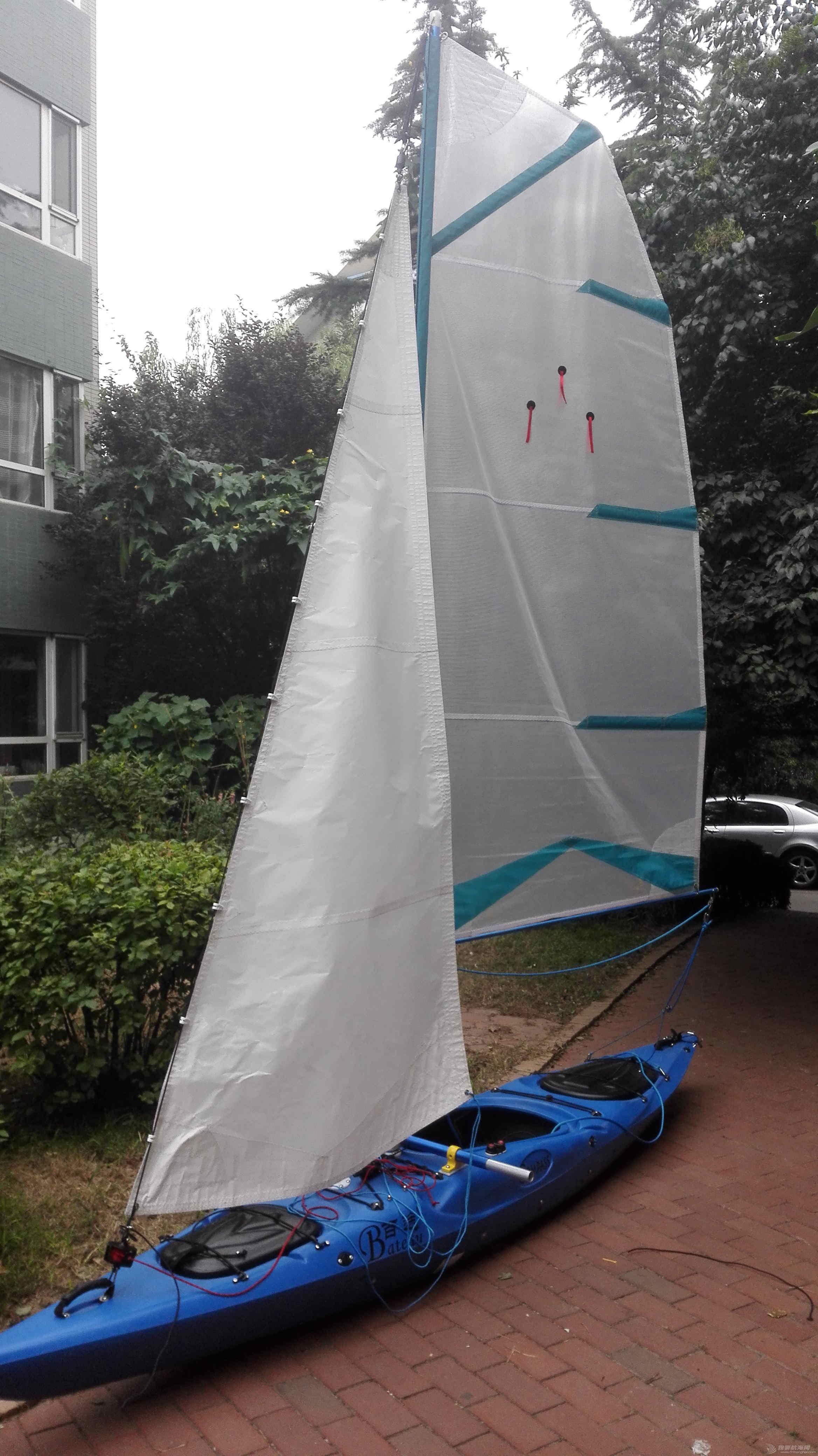帆船,一只,自己,弄到,长衣 皮艇加帆冒充帆船diy  132054tv7uy055m1uu3utu