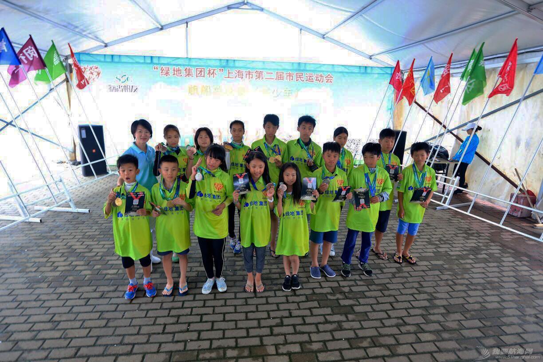 上海市第二届市民运动会帆船总决赛