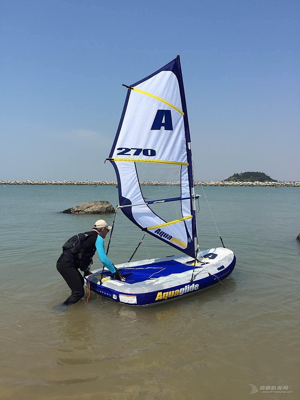 美国,帆船 美国aquaglide270便携式4合1充气帆船0.8万成交