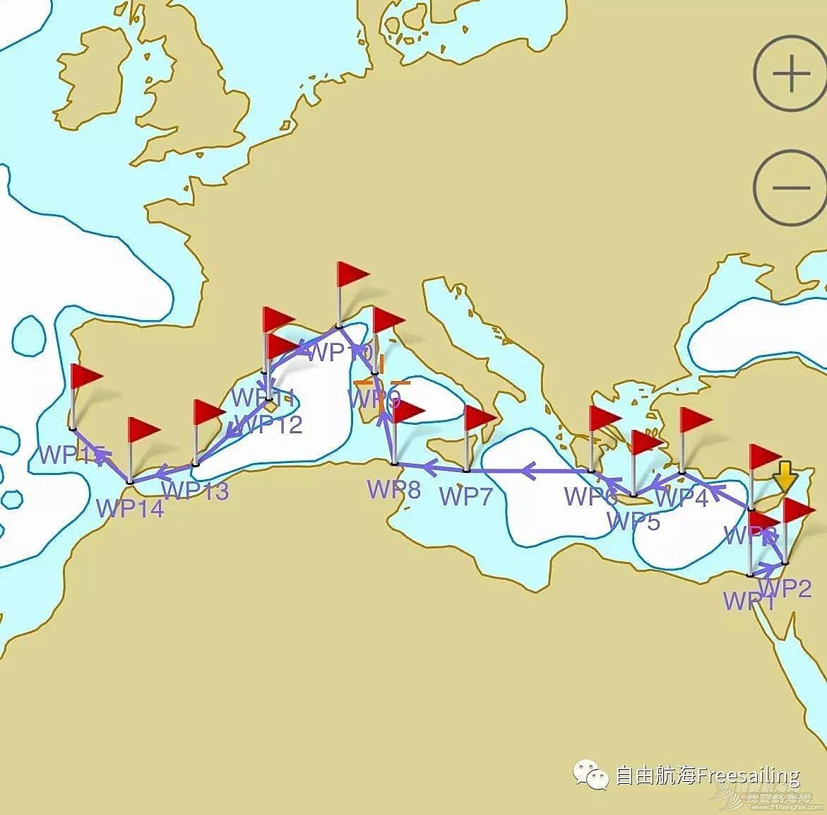 自驾帆船巡游地中海活动——体验船员招募书