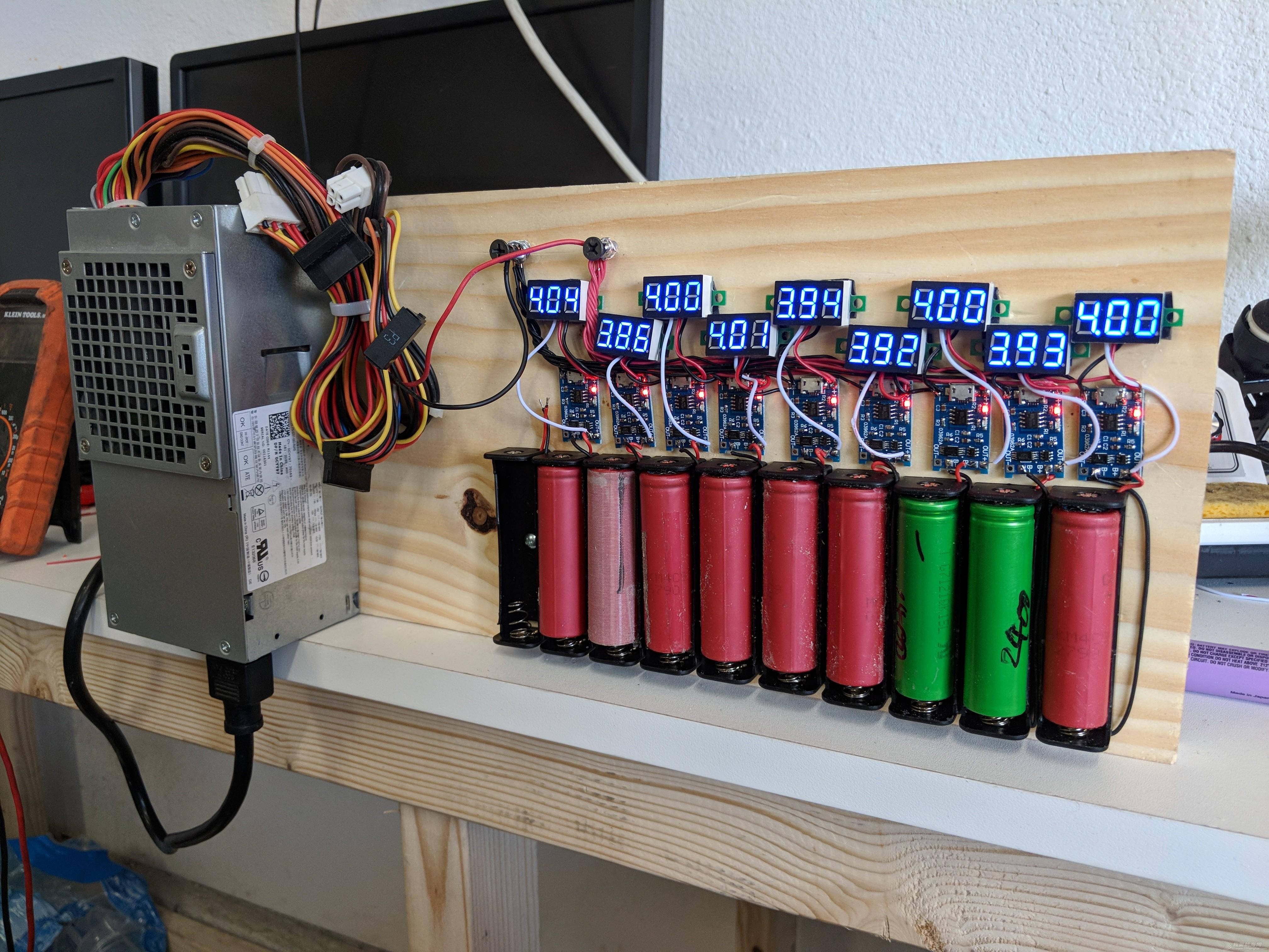 电池,这个,就是,用的,设计  一堆电池在用TP4056芯片做的充电器搞蛋 111451bicvviczb6rg2o98
