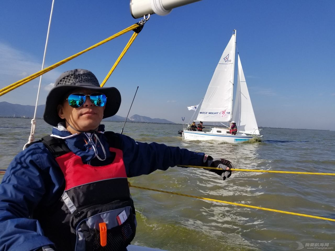 nbsp,到了,航海,我们,帆船 人生中的第一次--2017环太湖帆船赛  234018rngd3nnfe8lfjnp7