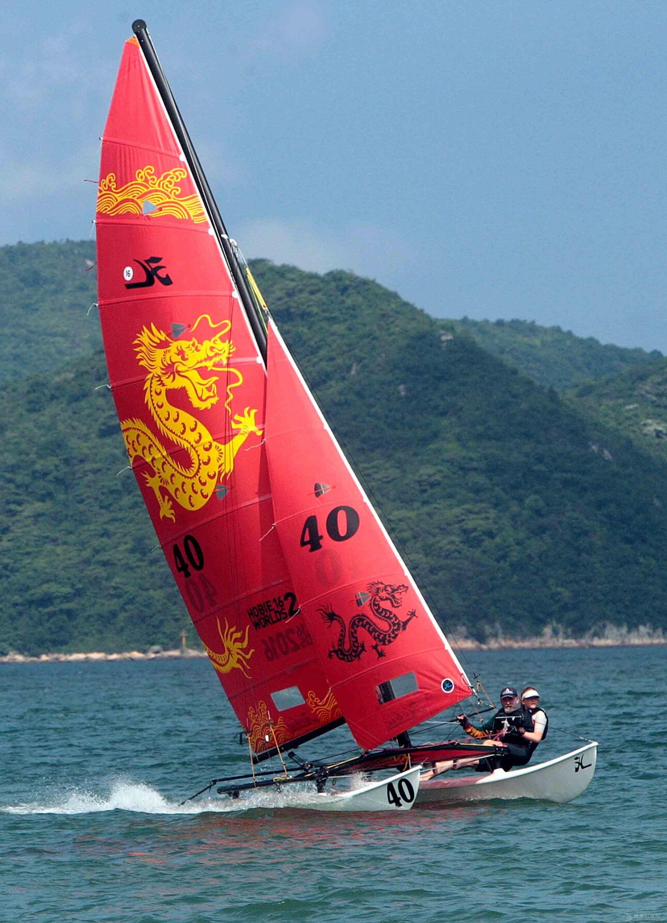 hobie 16 世锦赛龙帆 hobie16 dragon