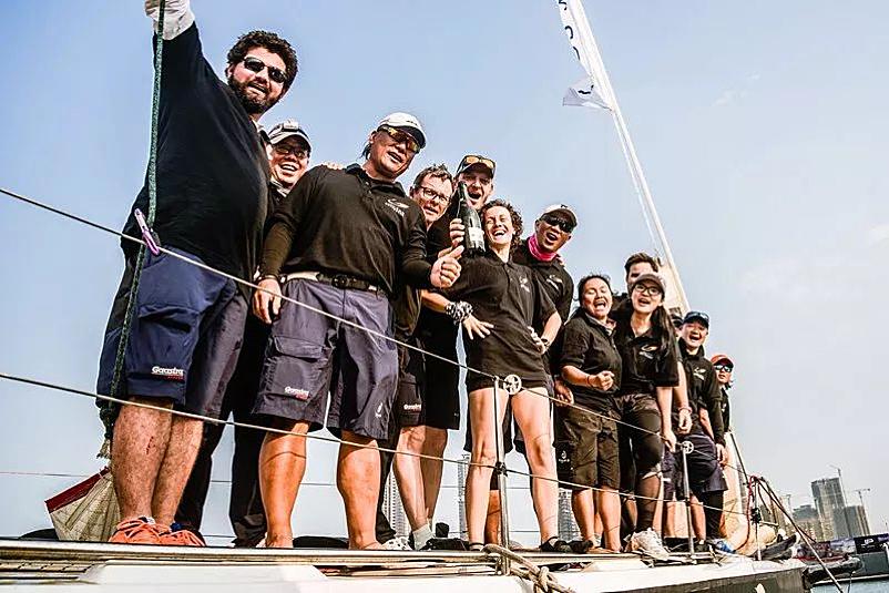 强强联合 海帆赛携手碧桂园——推动帆船运动普及带动海洋经济发展