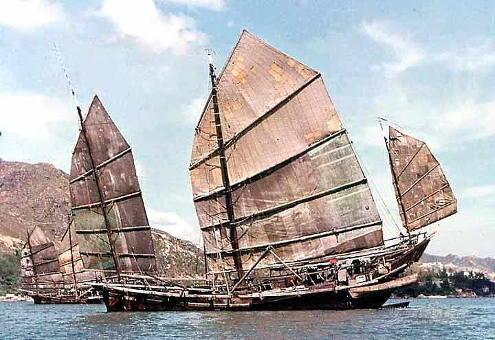 小型中国帆装帆船的形制与艺术
