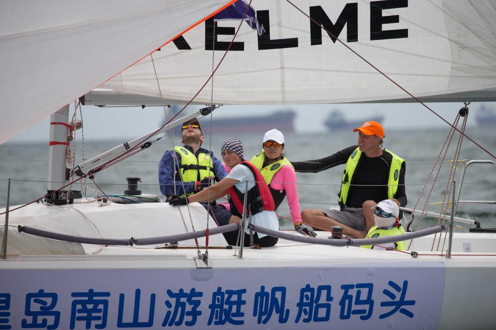 第一次帆船体验