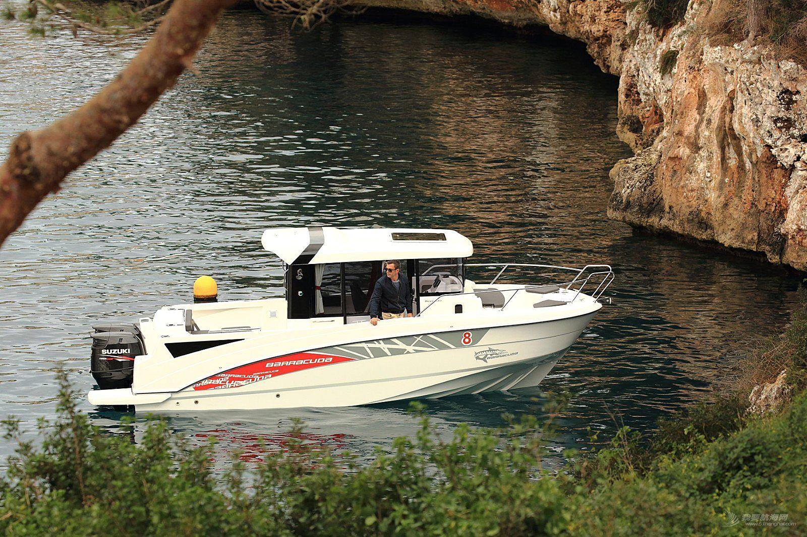 现艇销售 巴拉可达 8 游钓艇