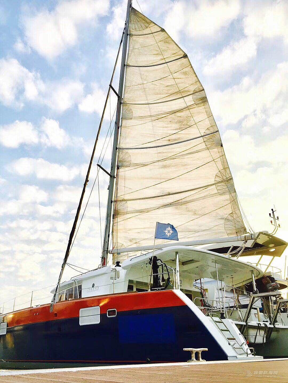 博纳多蓝高450双体大帆船(精选二手艇)