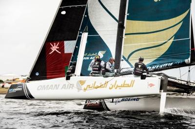 2018极限帆船系列赛第五站卡迪夫站