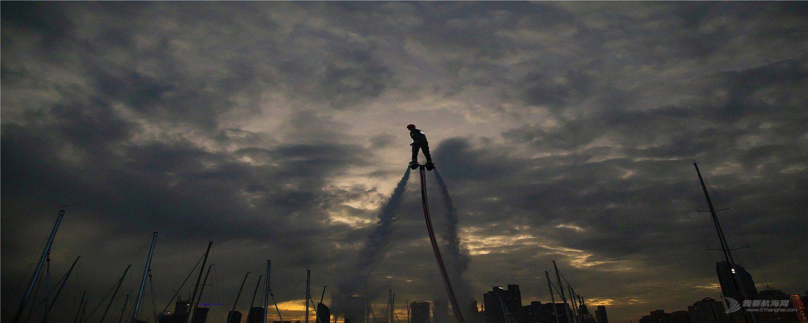 2018.中体产业城市俱乐部国际帆船赛,摩托艇表演