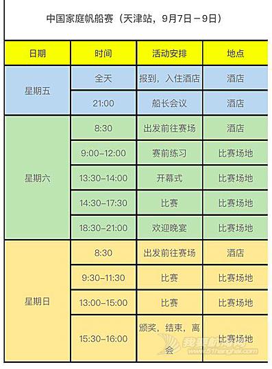 中国家庭帆船赛天津站即将起航